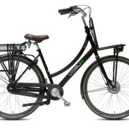 E-bike Vogue E-Elite plus in mat denim blauw en mat zwart