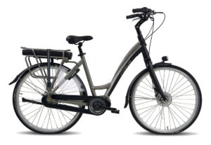 E-Bike Vogue Royal Mat-zwart/grijs
