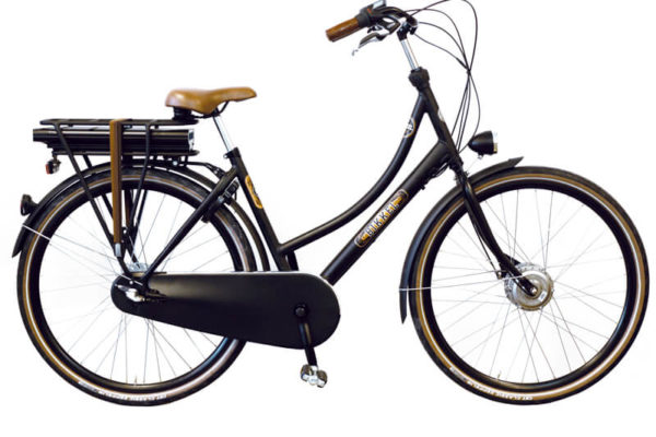 E-Bike Bikkel ibee BT Mat zwart