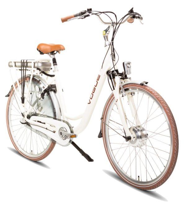 E-bike Vogue Basic 3 Cream Elektrische fiets voorkant