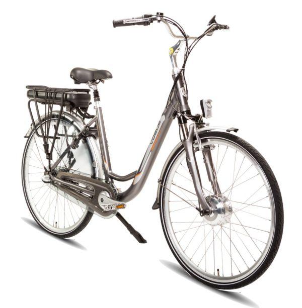 E-bike Vogue Basic 3 Grijs Elektrische fiets voorkant