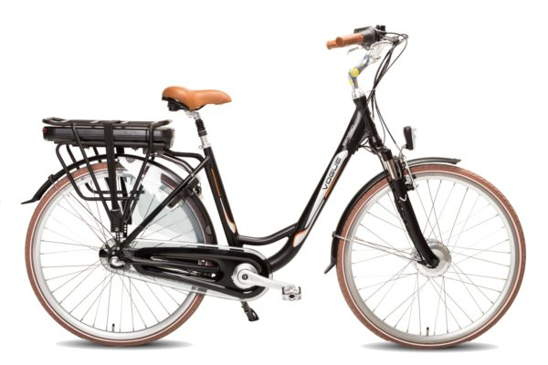 E-bike Vogue Basic 3 Mat zwart