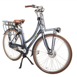 E-bike Vogue Elite Mat denim blue Elektrische fiets