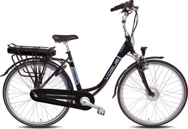 E-bike Vogue Premium damesfiets in zwart