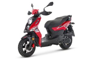 SYM Crox Euro 4 Red/Black