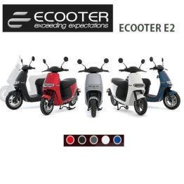 ecooter e2 kleuren