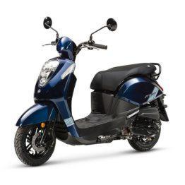 SYM Mio 50i zwart/blauw Euro5